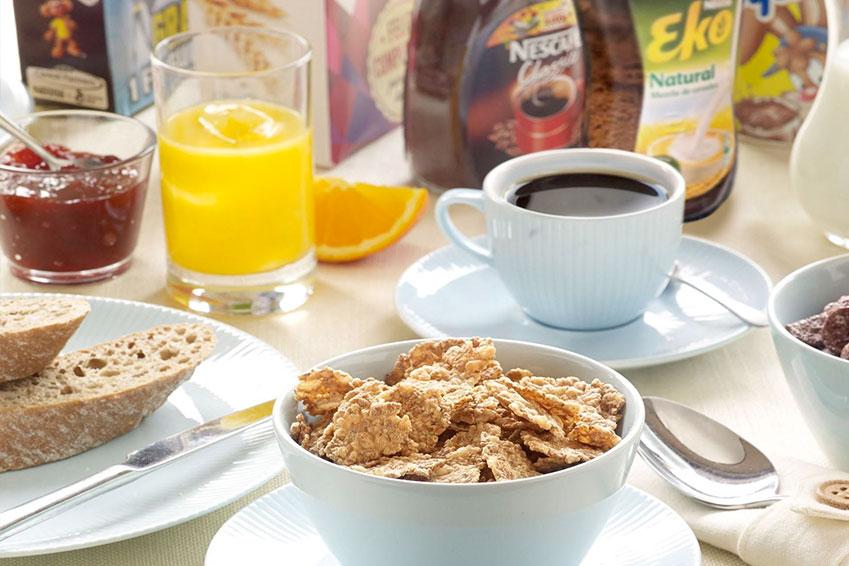 Desayuno completo y equilibrado